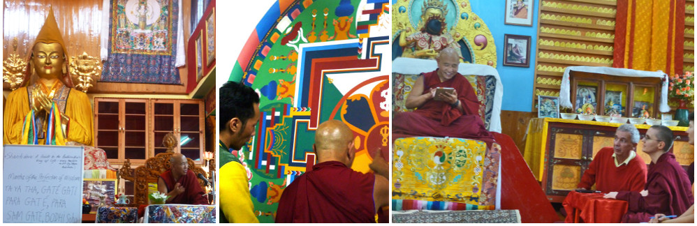 Kalachakra: a break, courses and Jhado Rinpoche in monsoon