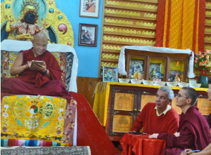Kalachakra courses in monsoon
