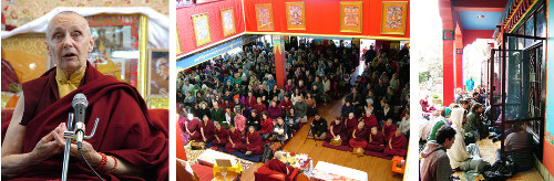 April: Jetsunma Tenzin Palmo's talk on Shamatha