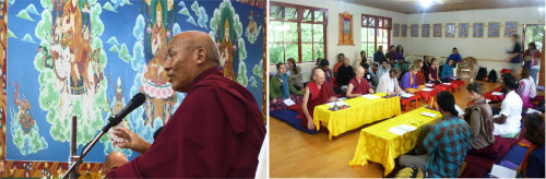 July: Choekhor Duchen with Geshe Lhakdor