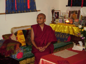 Yongey Mingyur Rinpoche – first time at Tushita! May 2016