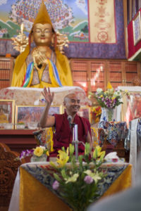 "Yongey Mingyur Rinpoche teaching on ""Dealing with Disturbing Emotions"""