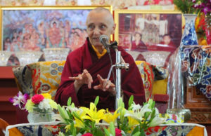 "Jetzunma Tenzin Palmo teaching on ""Lama Atisha's Root Verses of Mind Transformation"""