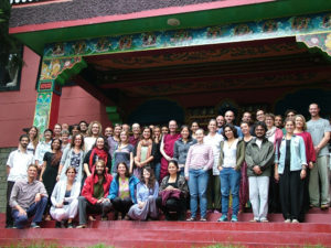 "Geshe Kelsang Wangmo and 50 participants of ""Bodhicitta"" course (11 days), June 2016"