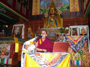 Geshe Lobsang Tsepal – First time at Tushita! June 2016