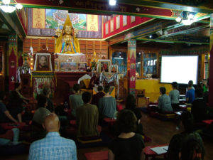 "Geshe Lobsang Tsepal – Slideshow on ""Holy Places In India"""