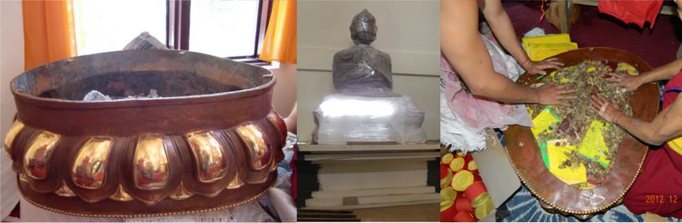 The Lama Tsongkhapa Disciple statues story