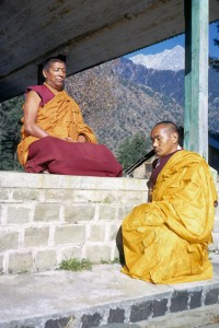 Geshe Rabten & Lama Yeshe, 1976