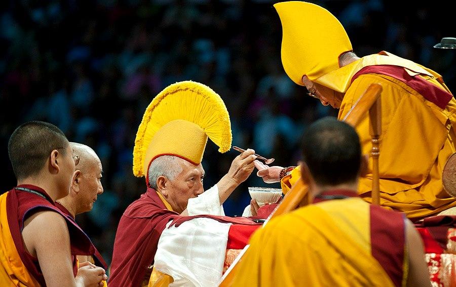 Yangten Rinpoche HHDL Samdhong