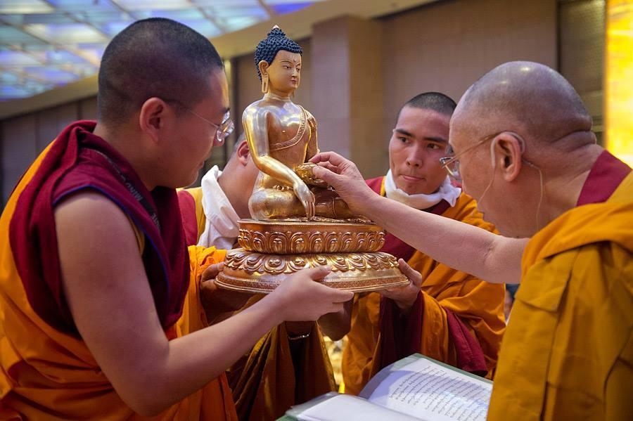Yangten Rinpoche HHDL