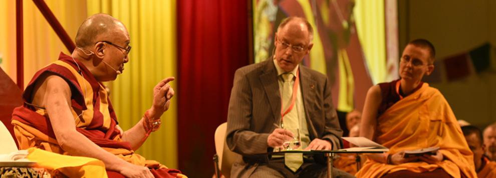 HH the Dalai Lama commends Geshe Kelsang Wangmo