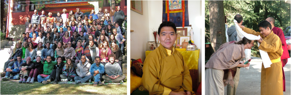 Ending the season with Serkong Tsenchab Rinpoche