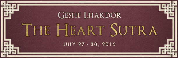 Geshe Lhakdor - The Heart Sutra