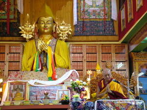 Lama Zopa Rinpoche during Lama Chopa Puja, March 29th