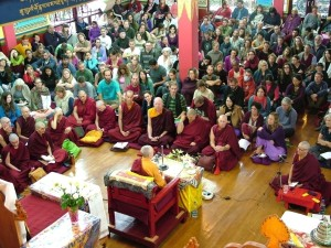 "Jetzunma Tenzin Palmo teaching Lama Atisha's ""A Bodhisattva's Jewel Garland"", April 13 & 14"