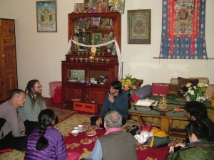 Osel in Lama Yeshe's Room