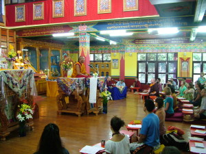 "Dagri Rinpoche teaching ""The Three Principal Aspects of the Path"", June 18 – 20"