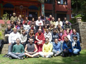 "Intermediate course ""Healing Disturbing Emotions"" with Ven Namgyel, March 30 – April 8"