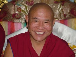Jhado Rinpoche at Tushita