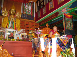 Jhado Rinpoche conferring the Vajrasattva Initiation, July 13th