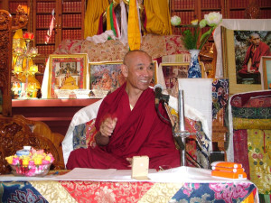 "Gen Gyatso giving teachings on ""The Eight Verses of Mind Transformation"", October 3 & 4"