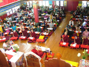 The teachings were also well attended by Sangha and our board members.