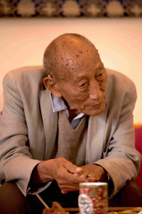 Khyongla Rato Rinpoche at Tushita.