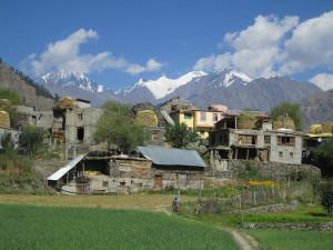 Simple village life