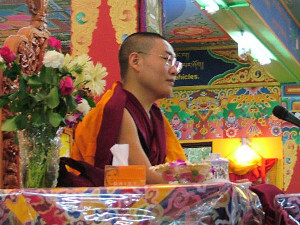 Yangten Rinpoche at TushitaTushita-Newsletter-2014-06