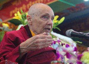 Jetzunma Tenzin Palmo, March 2016