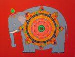 Wheel of Meritorious Elephant Generating Power