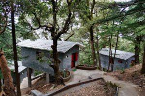 Three New Retreat Huts