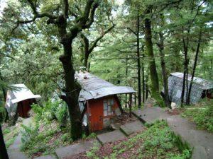 Original Three Retreat Huts